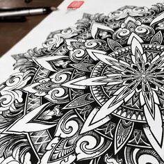 mandala.jpg (640×640) - orge stc - #beautiful #mandala #drawing #lovely #floral #detail