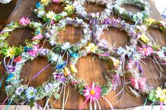 Woodland Fairy Party DIY Fairy Crowns via flouronmyface.com