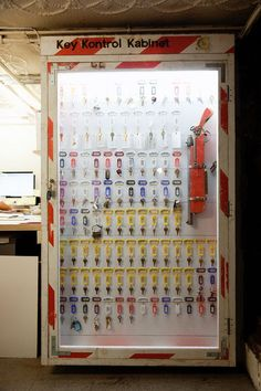Key Kontrol Kabinet  by Tom Sachs studio