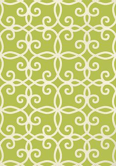 Kendall #wallpaper in #green from the Geometric Resource 2 collection. #Thibaut