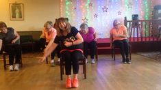 Really great to be able to transfer this 'Bhangra' from Zumba Fitness to 'Zumba Gold in the chair'. The track is called ' Shant' from Zin Many, many than. Senior Activities, Activities For Adults, Classroom Activities, Senior Fitness, Zumba Fitness, Senior Day, Band Workout, Chair Exercises, Easy Arts And Crafts