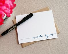Mother's Day Gifts under $25: custom stationery at Alexandra Em