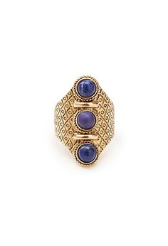 Faux Stone Cocktail Ring | Forever 21 - 1000181686