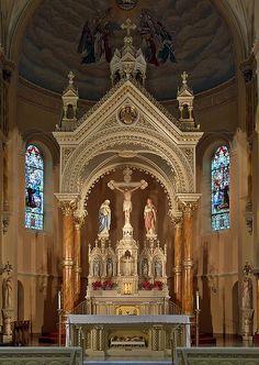 Saint Anthony of Padua Roman Catholic Church, in Saint Louis, Missouri.