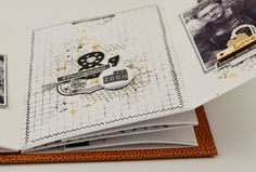 Creative Gifts For Photographers [It doesn't have to be costly] Diy Photo, Scrapbooking Mini Album, Agenda Bullet, Version Scrap, Graffiti Girl, Graffiti Tagging, Gifts For Photographers, Memory Books, Mini Books