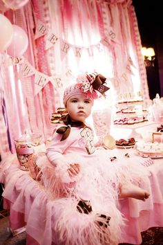 Sweet Shoppe First Birthday Party