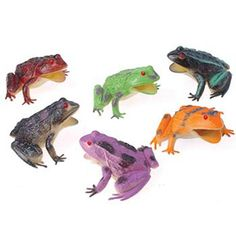 Novelty Toys: FROGS/4 INCH