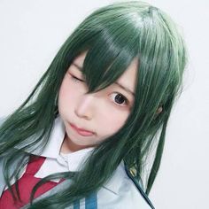 Cosplay Outfits, Cosplay Girls, Cosplay Costumes, Kawaii Cosplay, Cosplay Anime, Amazing Cosplay, Best Cosplay, Tsuyu Cosplay, Video Game Cosplay