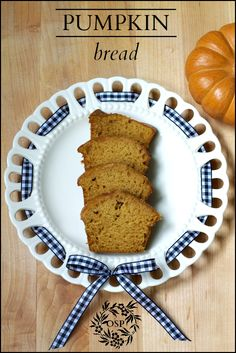 Moist and hearty pumpkin bread recipe that makes enough to share with family and friends!