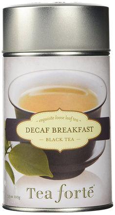 Tea Forte DECAF BREAKFAST Loose Leaf Black Tea, 3.5 Ounce Tea Tin ^^ See this awesome image  : Fresh Groceries