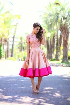 Saia Midi_Gode_Por Camila Coelho, uma coisa que eu acho que e legal e essas cores que casam bem.