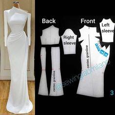 Source by faffifuu fashion sewing Pattern Cutting, Pattern Making, Dress Sewing Patterns, Clothing Patterns, Fashion Sewing, Diy Fashion, Sewing Clothes, Diy Clothes, Pattern Drafting