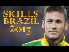 Neymar Jr ● Amazing Skills Show 2013 ● Brazil ||HD|| -