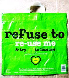 #Refuse to #Reuse