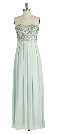 Mint Magnificence Dress