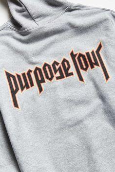 0b2a8c46f995 Justin Bieber Purpose Tour Hoodie - Urban Outfitters Purpose Tour Hoodie