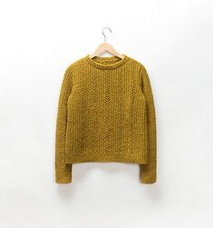 Brooklyn Tweed Pattern Docklight Pullover - The Websters in Ashland, Oregon