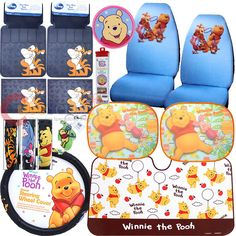 My Winnie The Pooh Car Seat Covers Winnie The Pooh
