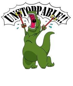 Hahahahaha! #T-rex