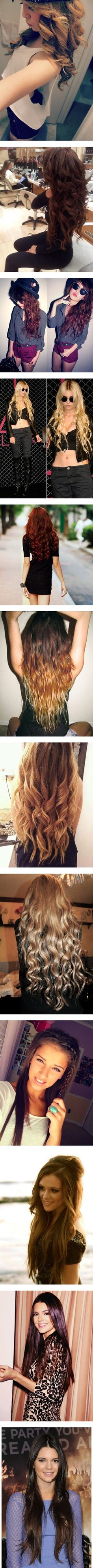 """Elaine's Hair Inspiration ♡"" by elaine-elizabethxo ❤ liked on Polyvore"
