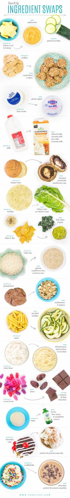 Healthy Everyday Swaps!