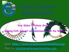 Clipping-Path-Services by Graphic Experts International via slideshare