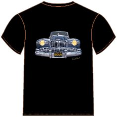 48 Lincoln Continental Grille T-Shirt from VivaChas!