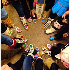 In the North, where rocking your mocs is a way of life. @DeneNahjo #IWLeading