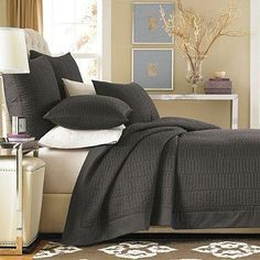 Layer this coverlet under a duvet for extra warmth in the winter, and use it alone when the temperatures rise.