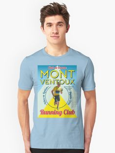 Chris Froome Mont Ventoux Running Club  T-Shirt by CycloBuzz 7f947ec40