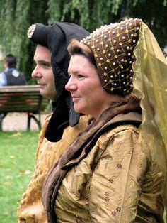 15th reenactors couple, closeup - Gebroeders van Limburg Festival, Nijmeegen 2011 || Foto: Lady McHamish