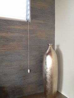 Textured Wall with Multiple Metallic Paint Colors | Modern Masters | Project by Tracy Wade