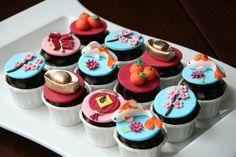 Chinese New Year cupcakes-- love the koi fish!