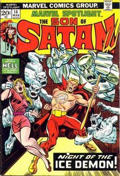 Marvel in the 1970s could be a weird, weird place. But an awesome kind of weird.