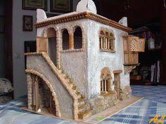 "[gallery ids=""3343,3342,3364,3341,3340,3363,3362,3330,3329,3335,3217,3212,3210,3107,3111,3655,3659″ type=""slideshow""] En esta ocasión se nos ha ocurrido realizar una posada … Clay Houses, Miniature Houses, Christmas Nativity, Christmas Diy, Stone Cottages, Desert Homes, Mountain Village, Spanish Colonial, Medieval Fantasy"