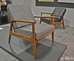 The FLC | Fahmida Chair by @Thos_Moser and designed by Fahmida Lam.  Inspired by Swedish Modern style.  #dwellondesign #dod2014