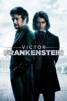 Victor Frankenstein Movie Poster - Daniel Radcliffe, James McAvoy, Jessica Brown Findlay  #VictorFrankenstein, #MoviePoster, #ActionAdventure, #PaulMcGuigan, #DanielRadcliffe, #JamesMcAvoy, #JessicaBrownFindlay