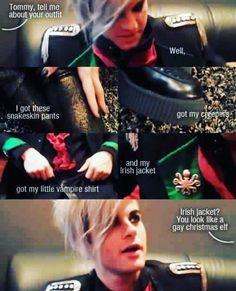"""A gay christmas elf"""
