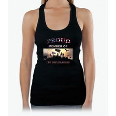 The Deplorables Trump Gift T-Shirt Womens Tank Top