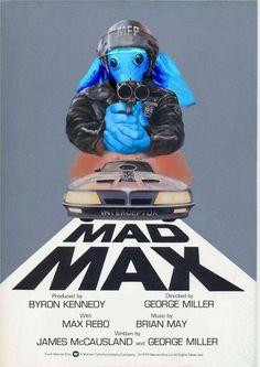 Cool Mad Max Rebo poster