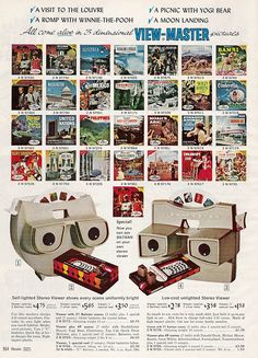 View-Masters in Sears Christmas Catalog, 1966