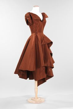 Charles James - cocktail dress 1952