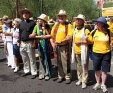 UUA President Rev. Peter Morales and other supporters Standing on the Side of Love in Phoenix, AZ.