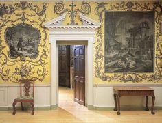 The Van Rensselaer Hall at the Period Rooms in the Metropolitan Museum of Art   Paint + Pattern
