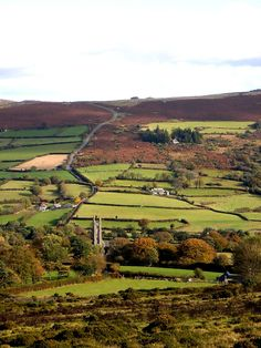 Widecombe Valley -- a moment of charm for the Teales in the rain and cold of Dartmoor.
