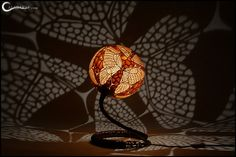 Table lamp XX - Butterflies by Calabarte.deviantart.com on @deviantART