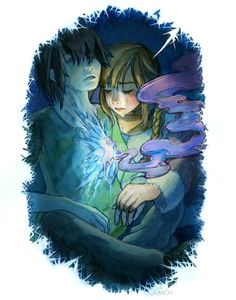Gerda and Kai by miasus.deviantart.com on @deviantART