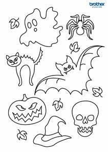 graphic relating to Halloween Craft Printable identify 27 Least difficult Halloween Printables photos within 2015 Halloween