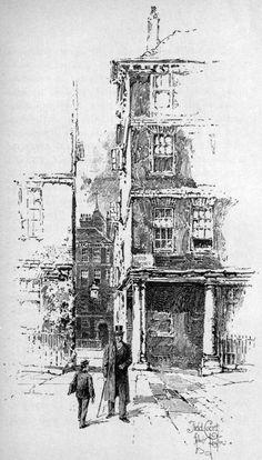 Field Court /   1000 hours of drawing .    .....  . HERBERT RAILTON .    ... 11/21/1857 -- 3/15/1910