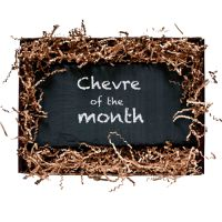 a new chevre every month. the gift that keeps giving. Belle's Chevre Of The Month Club